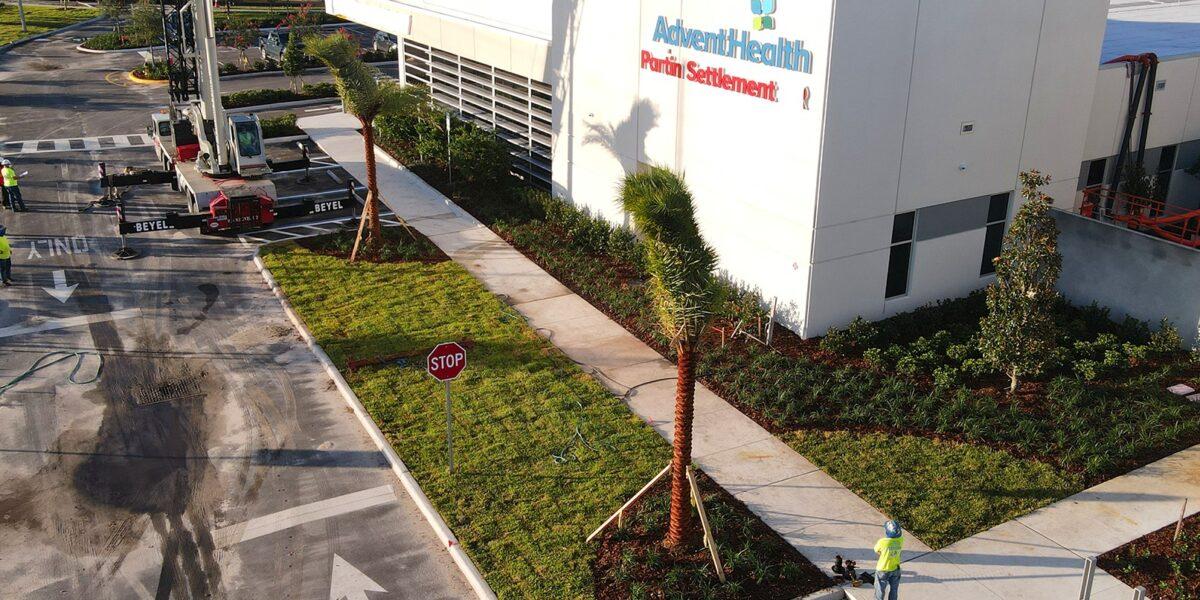 Advent Health Partin Settlement Health Park Site and Landscape Design